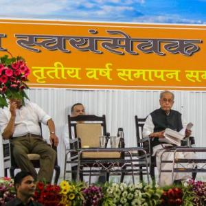 How Pranab played it safe in Nagpur