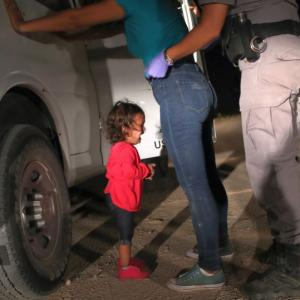 Photo that captures the horror of Trump's border policy