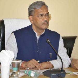 U'Khand CM loses cool, orders arrest of school principal for 'showing disrespect'