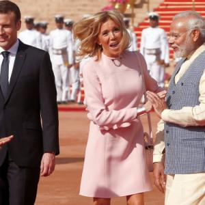 We've very good chemistry: French President Macron in India