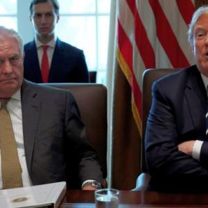 Trump sacks Secretary of State Tillerson; CIA chief to replace him