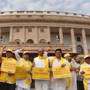 No-trust vote may happen on Tuesday: TDP MP