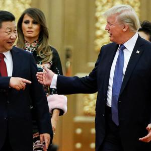 The US is in decline, China is on the rise