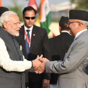 India supports united, prosperous and strong Nepal: Modi