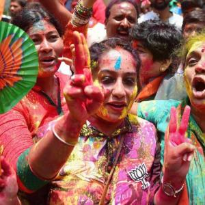 PHOTOS: Dance, dhamaal for BJP as it wins another election