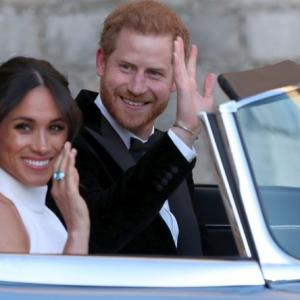 Fun, frolic and fireworks at Harry-Meghan's wedding