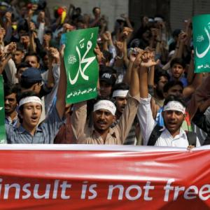 Protests in Pak as Christian woman accused of blasphemy acquitted