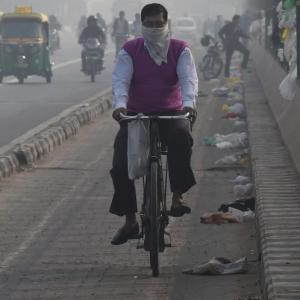 Delhi's air pollution: Delivery staff are hit the most