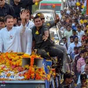 Opinion polls: Cong likely to win Raj; has edge in MP, Chhattisgarh