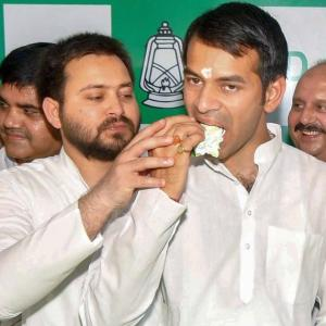 Yes, there's a rift between Tejashwi and Tej Pratap, says Lalu's daughter