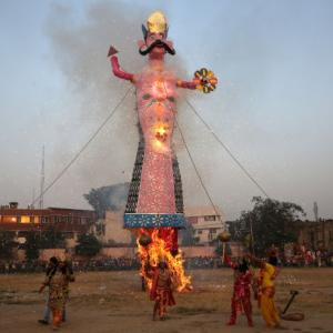 Why Bhim Army does not want Ravan to burn