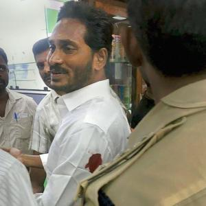 YSRC chief Reddy injured in knife attack at airport, assailant held