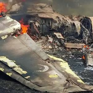 IAF's MiG-27 jet crashes in Jodhpur, pilot ejects safely