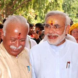 Are BJP and RSS no longer on the same page?