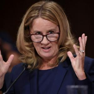 '100 percent' sure that Kavanaugh assaulted me: Christine Ford to US senators