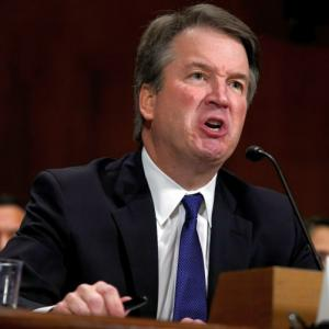 Trump stands by beleaguered judge Kavanaugh after fiery Senate hearings