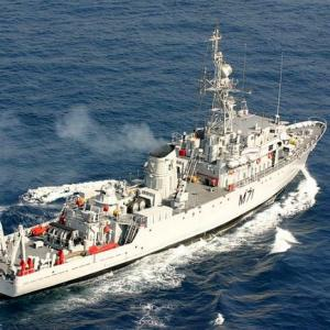 Navy in urgent need of 12 minesweepers, left with only 2: Official