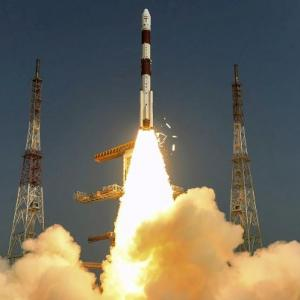 In many firsts, ISRO launches military satellite