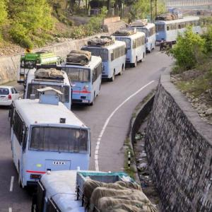 Amid protest MHA defends highway ban in Kashmir