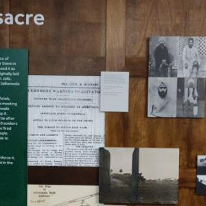 PHOTOS: Jallianwala Bagh exhibition at a UK museum