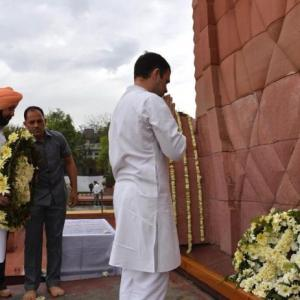 Never forget cost of freedom: Rahul at Jallianwala