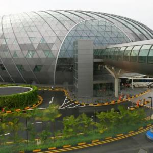The crown Jewel of Changi Airport