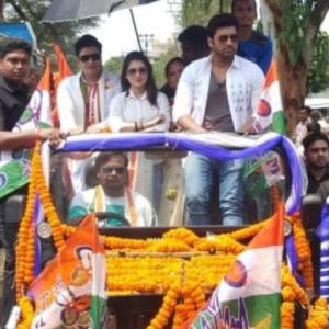 Centre orders Bangladeshi actor to leave India for TMC campaign