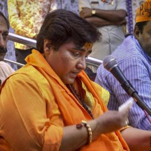 Sadhvi breaks down recalling 'torture' in custody