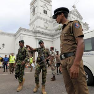 'Pieces of flesh thrown all over church after blast'