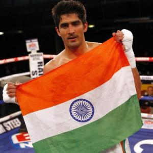 Boxer Vijender is Cong candidate from South Delhi