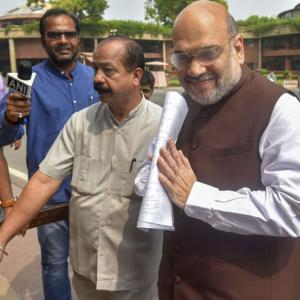 Welcome the new 'strongman' -- Amit Shah