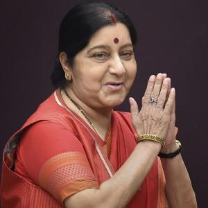Former Foreign Minister Sushma Swaraj passes away