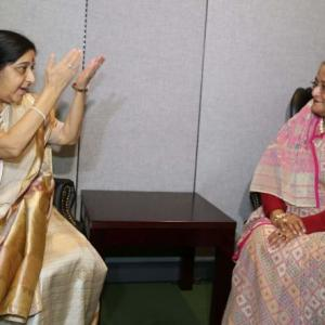 World mourns India's beloved Sushma Swaraj