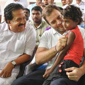 'We're with you': Rahul tells flood-hit Wayanad
