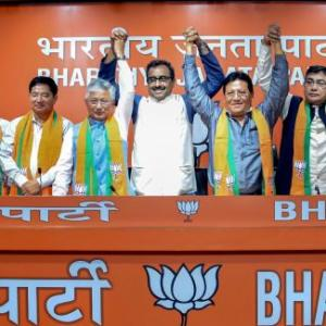 'BJP is doing in Sikkim what it did in Arunachal'