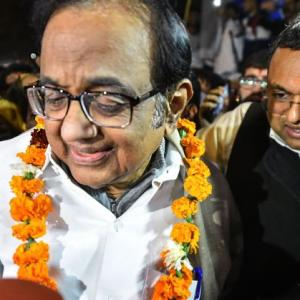 After 105 days, Chidambaram walks out of Tihar