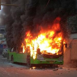 Violent clashes in Delhi over Citizenship Act