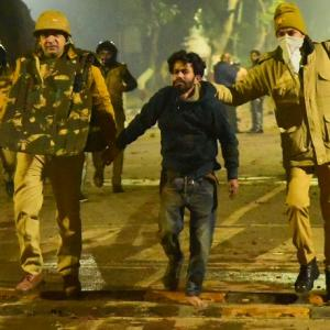 Cops thrashed us inside hospital too: AMU students