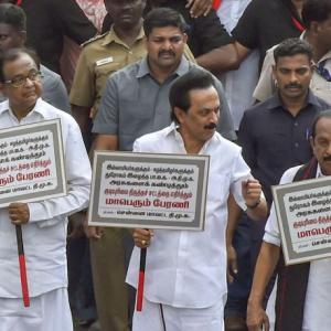 DMK, allies take out rally against CAA in Chennai