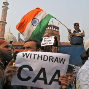 Hundreds gather at Jama Masjid to protest against CAA