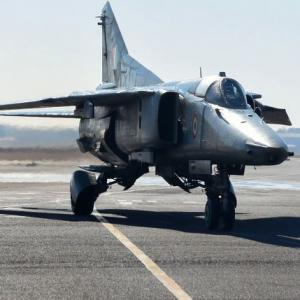 SEE: IAF's MiG 27 takes to skies one last time