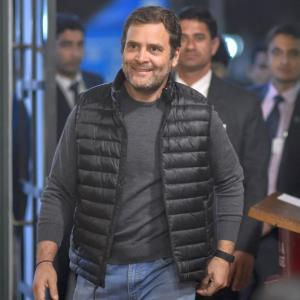 PHOTOS: When Rahul had 'surprise date' with students