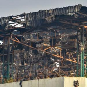 Massive fire at Delhi hotel kills 17; GM, manager arrested
