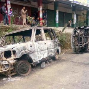 Protests intensify in Arunachal over PRC, dy CM's house vandalised