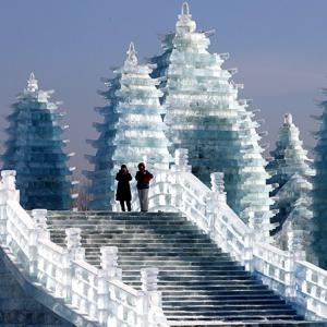 PHOTOS: Inside the city of ice!