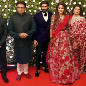 Look who turned up for MNS chief Raj Thackeray's son's wedding