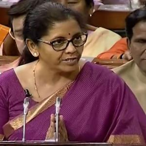 Sitharaman delivers 2.17 hr-long speech, earns praises