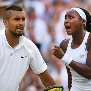 The star and the star child of Wimbledon