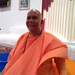 The Hindu priest attacked in New York
