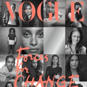 Meghan guest edits British Vogue's September issue